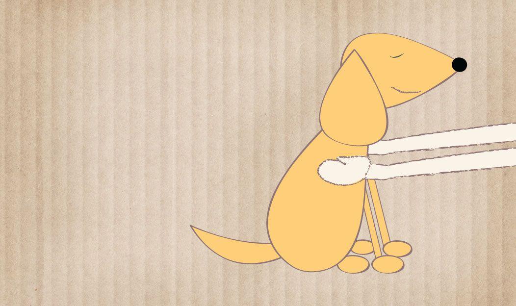 O cão adotado ou resgatado
