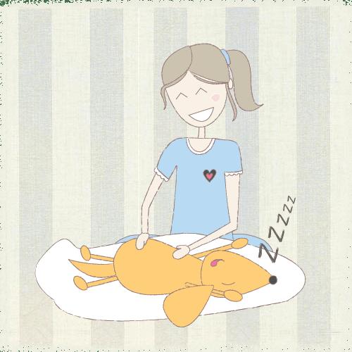 Massagem de bem-estar para cães