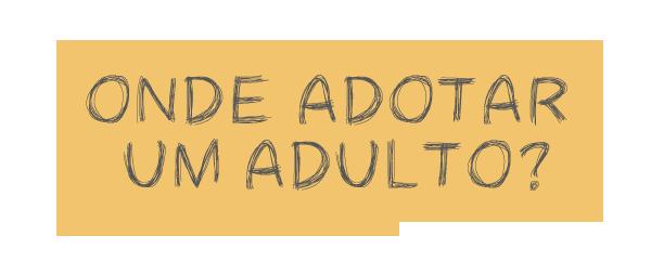 Adote um adulto!