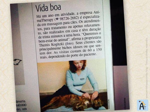 AnimaTherapy na revista Veja SP