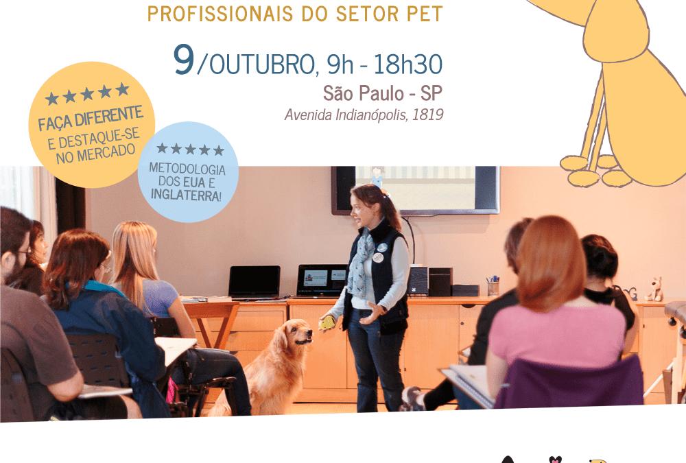 INSCRIÇÕES ENCERRADAS – Workshop de Introdução a Massagem Relaxante para Cães