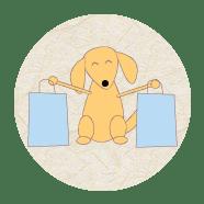 Proprietários e funcionários de pet shop