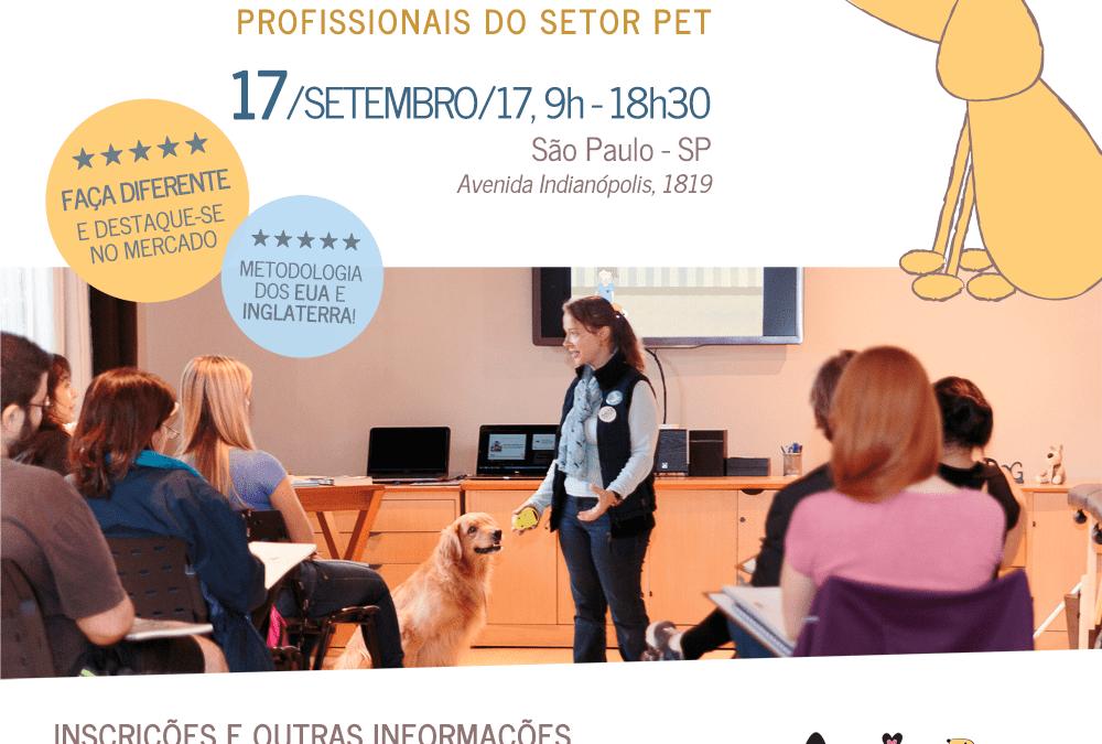 Workshop de Introdução a Massagem Relaxante para Cães – INSCRIÇÕES ABERTAS!