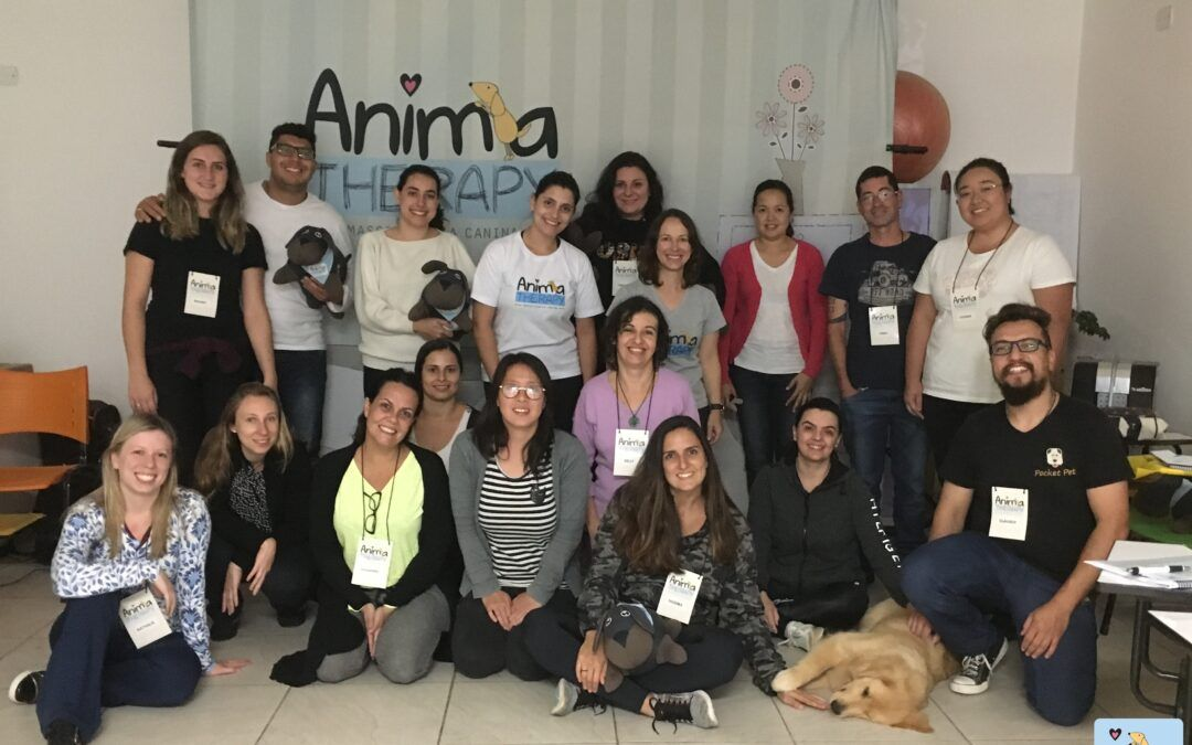 IX TURMA do Workshop de Massagem Relaxante para Cães