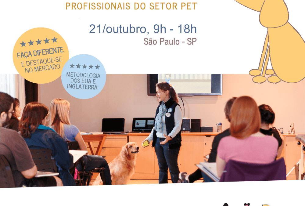 Workshop de Introdução a Massagem Relaxante para Cães – INSCRIÇÕES ENCERRADAS