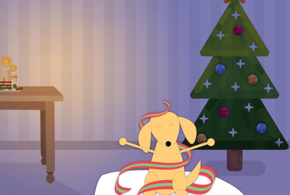 Com o Natal chegando, veterinários advertem: não dê chocolate aos seus animais de estimação